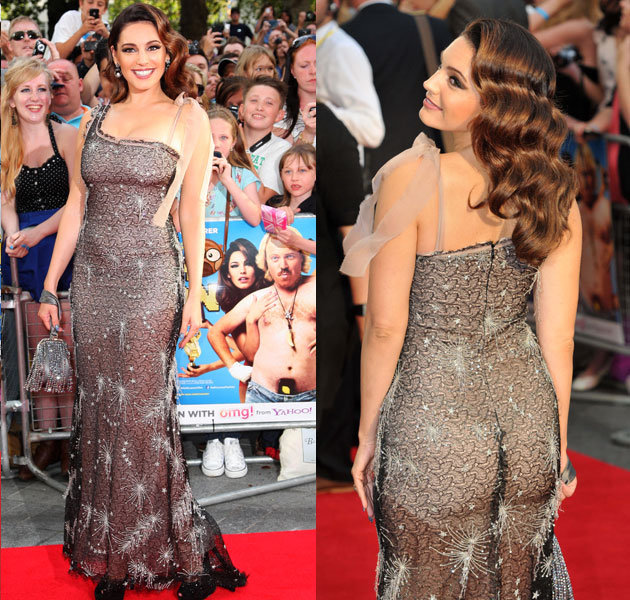 Scantily-clad Kelly Brook steals the show in the new Keith