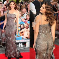 Kelly Brooke Shows Off Her Bum At Keith Lemon Premier