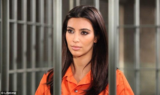Kim kardashian behind bars in an episode for drop dead diva - Drop dead diva final episode ...