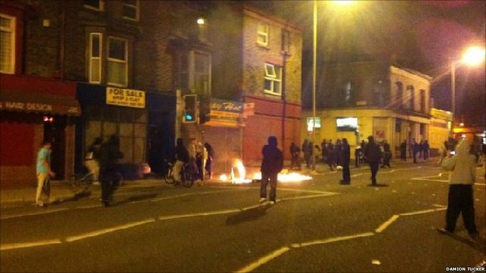 England riots one year on for Furniture 66 long lane liverpool
