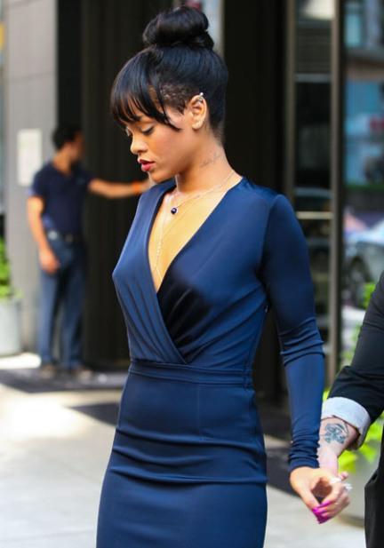 Rihanna Robe Fashion Icon Cfda
